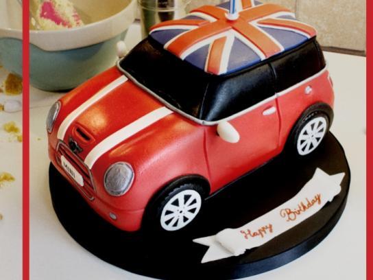 Mini Print Ad -  Cake