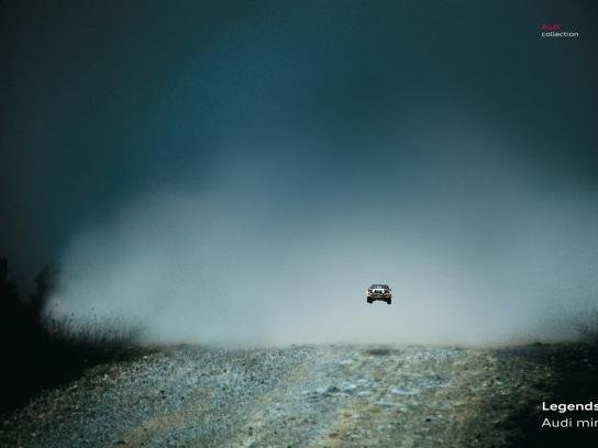 Audi Print Ad -  Leap