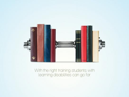 Igul Letova Print Ad - Book weight