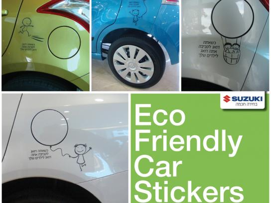 Suzuki Outdoor Ad -  Car Stickers