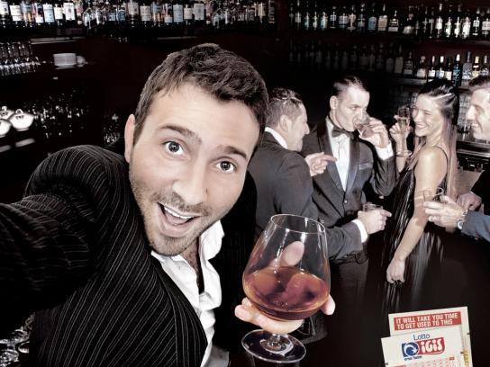 Lotto Print Ad -  Selfie