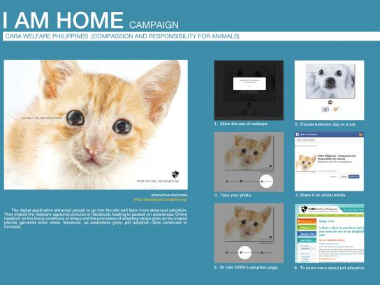 CARA Digital Ad -  I am home - online