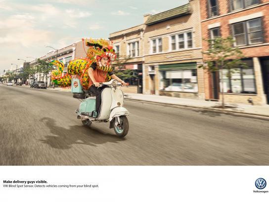 Volkswagen Print Ad - Visible, 2