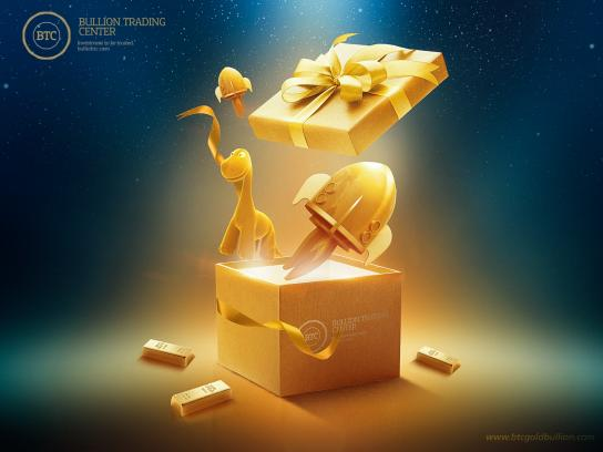 Bullion Trading Center Print Ad - Your Gift in Right Place