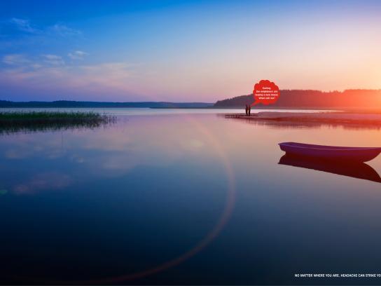 Kalpataru Print Ad - Lake