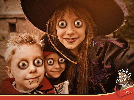 Ferrero Rocher Print Ad - Trick or Treat?, 2