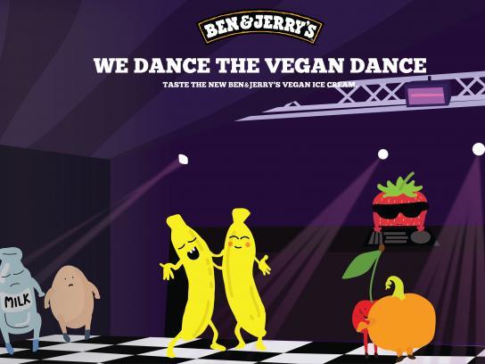 Ben & Jerry's Print Ad - Vegan Dance