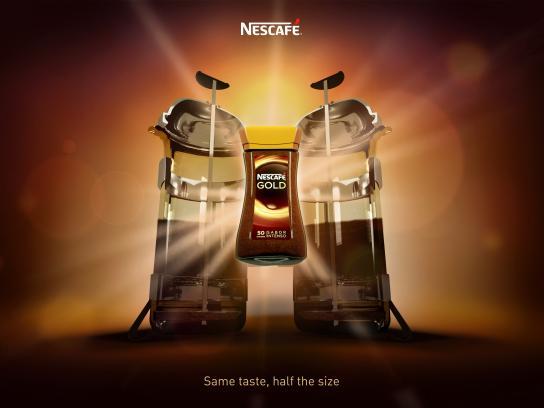 Nescafe Print Ad - Same Taste, 2