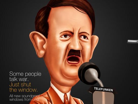 Urka Print Ad - Hitler
