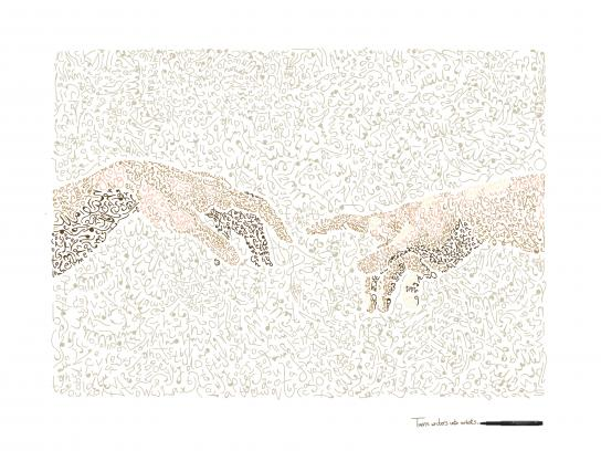 Faber-Castell Print Ad - Turns Writers Into Artists, 2