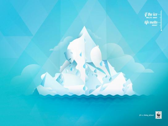 WWF Outdoor Ad -  Ice