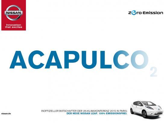 Nissan Print Ad -  Acapulco