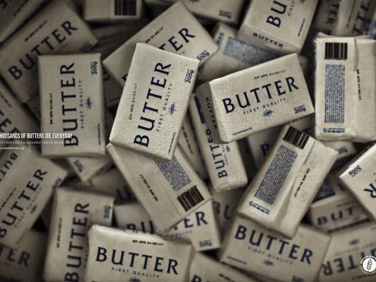 BANCO DE ALIMENTOS Print Ad - Butters