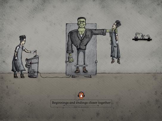 Penguin Print Ad - Frankenstein