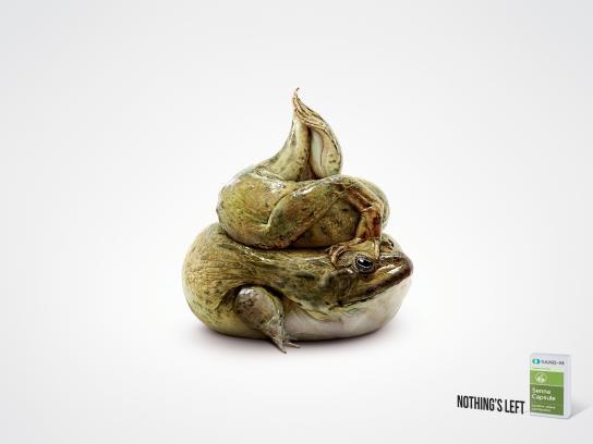 Senna Capsule Print Ad -  Frog