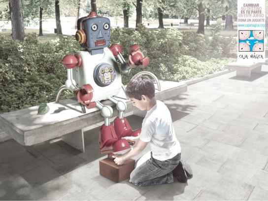 Fundación Caja Mágica Print Ad -  Play the game, 2