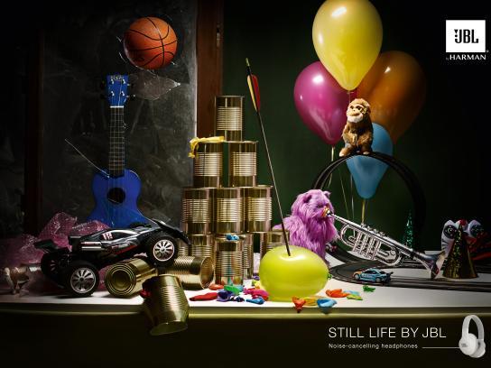 JBL Print Ad - Still Life - Kids