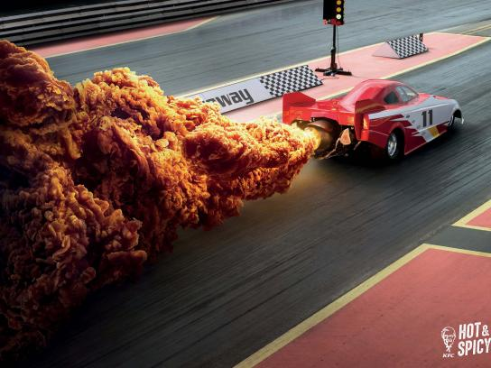 KFC Print Ad - Hot & Spicy, 3