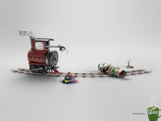 Knorr Print Ad -  Super-Hero