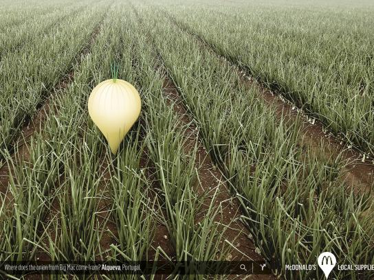 McDonald's Print Ad -  Onion