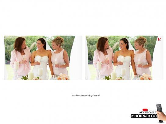 Montecable Print Ad -  Wedding
