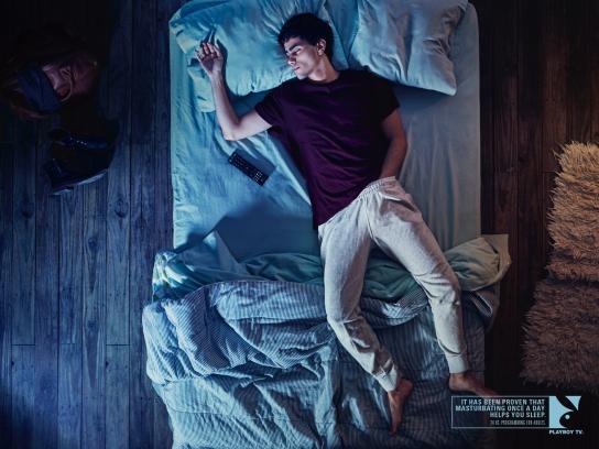 Playboy Print Ad -  Sleepers, 2