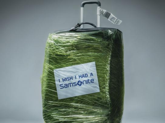 Samsonite Print Ad - Green