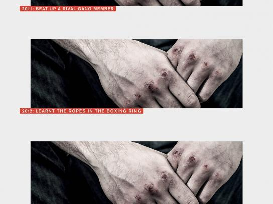 Sported Print Ad -  Blood
