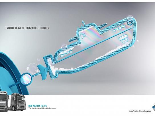 Volvo Print Ad -  Submarine