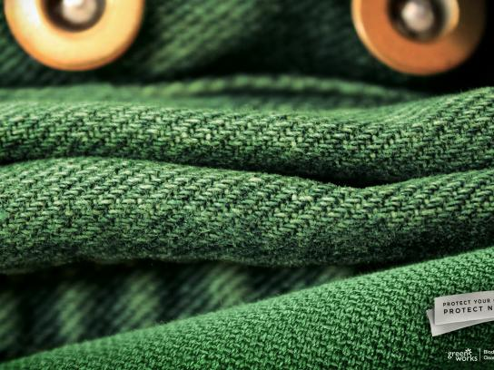 Green Works Print Ad -  Frog