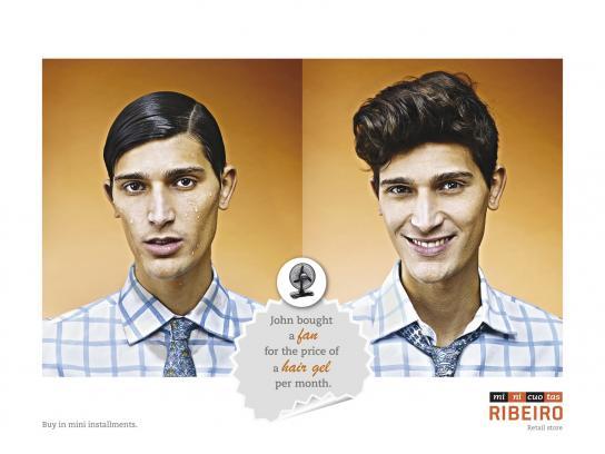 Minicuotas Ribeiro Print Ad -  John