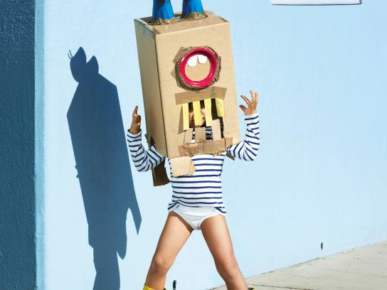 Petit Bateau Outdoor Ad -  For serious kids, 2