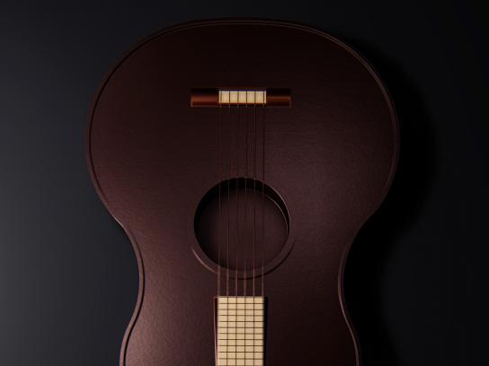 Moks Print Ad - Guitar