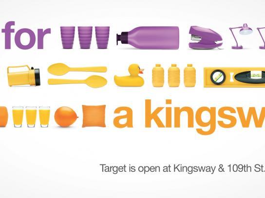 Target Outdoor Ad -  Kingsway