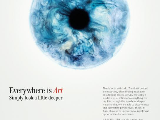 UBS Outdoor Ad -  Everywhere is Art, 3