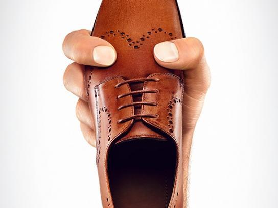 MAX Shoes Print Ad -  Brogue