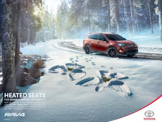 Toyota Print Ad - Angels