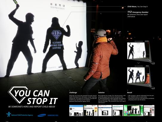 National Child Abuse Protection Agency Ambient Ad -  You can stop it
