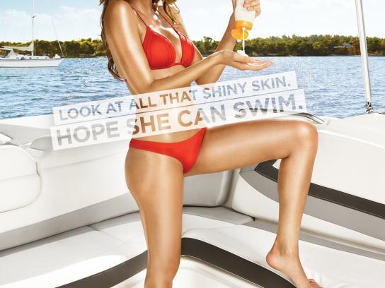 303 Print Ad -  Sunscreen