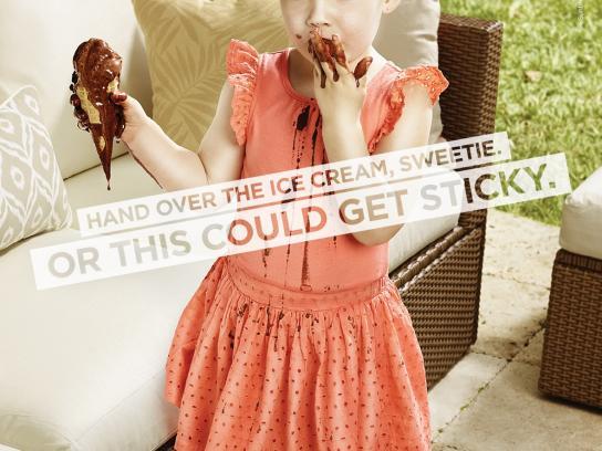 303 Print Ad -  Ice cream
