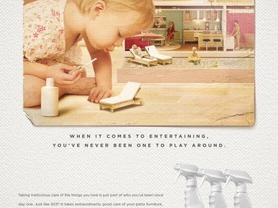 303 Print Ad -  We've got your number - patio
