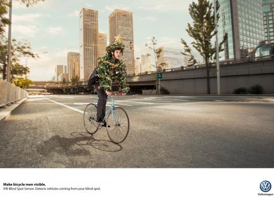 Volkswagen Print Ad - Visible, 3