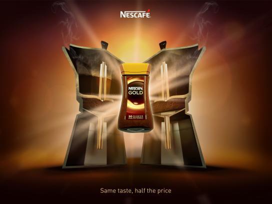Nescafe Print Ad - Same Taste, 3