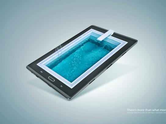 Cairo Festival City Mall Print Ad - Pool