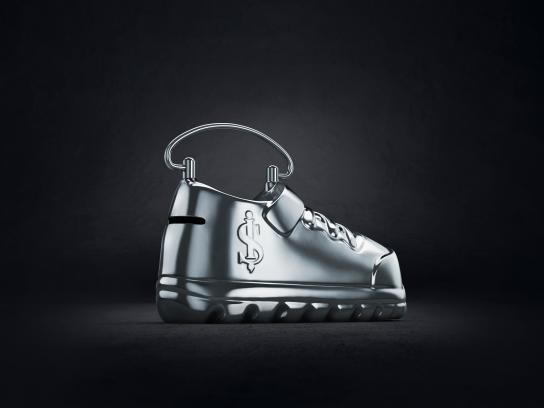 Isbank Print Ad - Penny Bank, Dreams - Shoe
