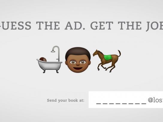 Lost Boys Paris Print Ad -  Guess the ad, 3