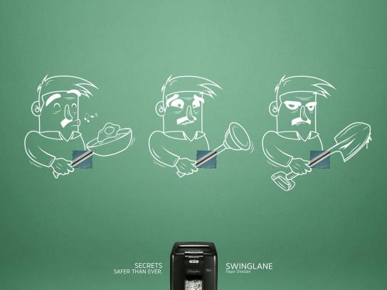 Swinglane Print Ad - Secrets safer than ever, 3