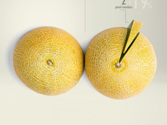 Proximity Madrid Print Ad -  Cucumbers and Melons, 3