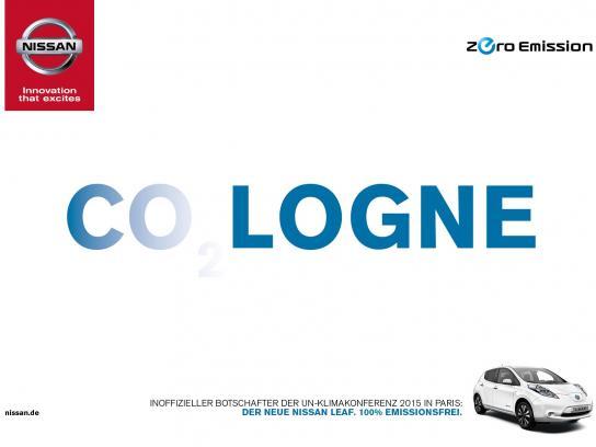 Nissan Print Ad -  Cologne