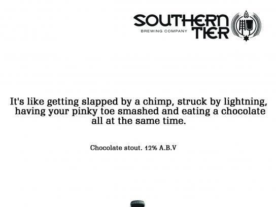 Southern Tier Brewing Company Print Ad - Southern Tier Choklat Beer, 3